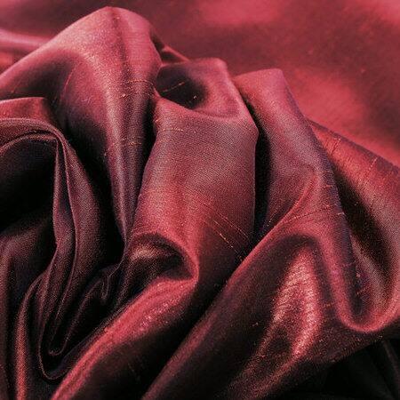 Mullberry Vintage Textured Faux Dupioni Silk Fabri...