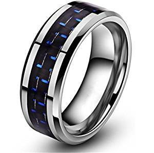 8mm - Unisex or Men's Tungsten Wedding Bands....