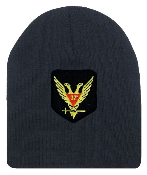 Masons Cap Beanie - Standard Scottish Rite Wings U...