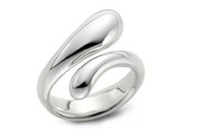 Tear Drop Ring - Adjustable - One Size Fits All (....