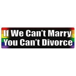 If We Can't Marry, You Can't Divorce - Rai...