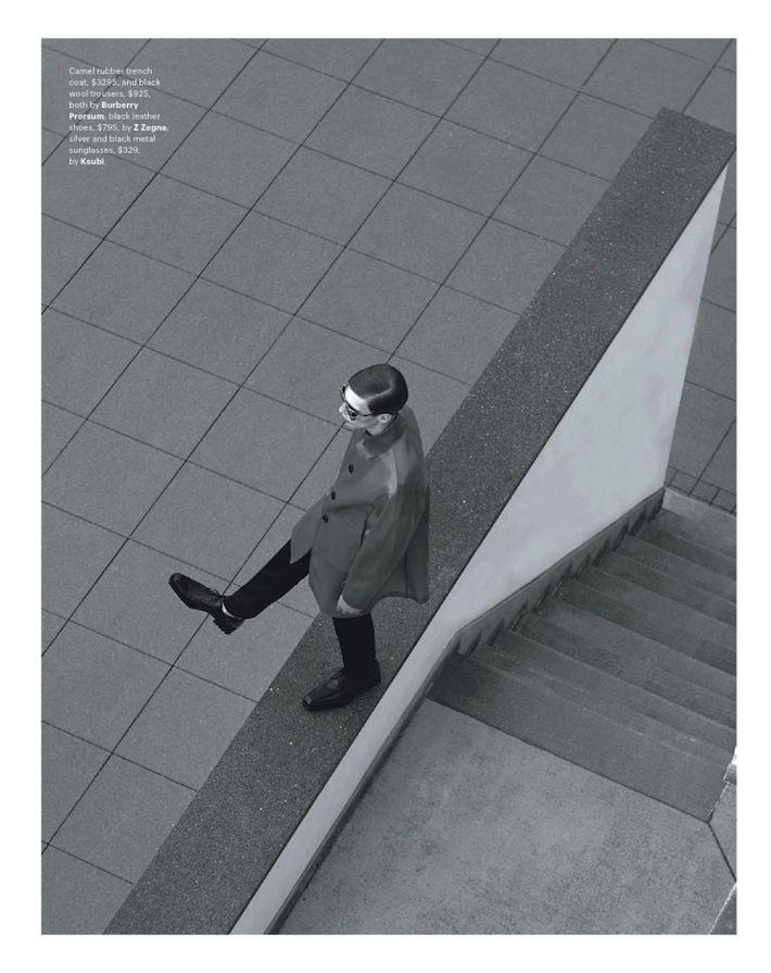 Tim Schuhmacher Rocks Modern Designs for GQ Austra...