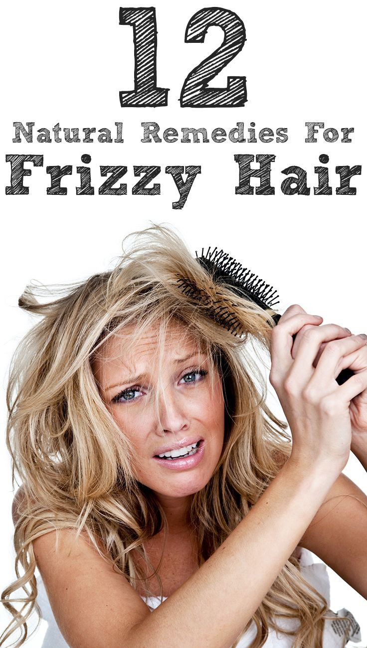 14 Natural Remedies To Get Rid Of Frizzy Hair