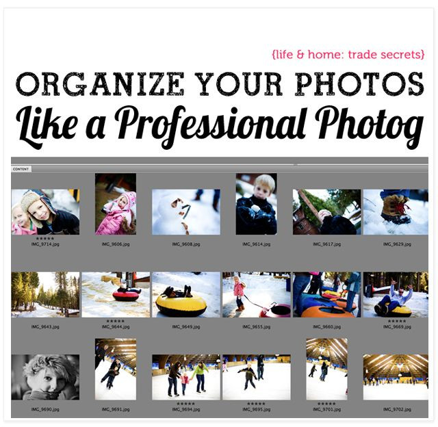 How to Store Your Digital Photos Like the Pros Do...
