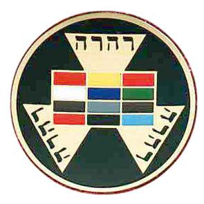 Freemasons Car Emblem / Past High Priest symbol wi...