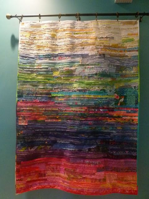 Fiber art piece by Debra (Debra's Design Studio) f...