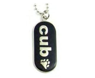 """Pendant """"Cub"""" with Paw Comical Gay Pride..."""