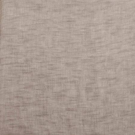 Open WeaveCinder Grey Linen Sheer Fabric