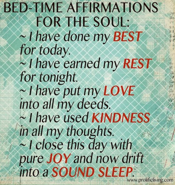 Bedtime Affirmations | Affirmations for Sound Slee...