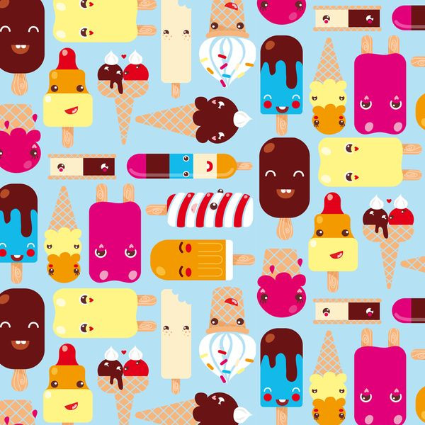 Kawaii Pattern Design