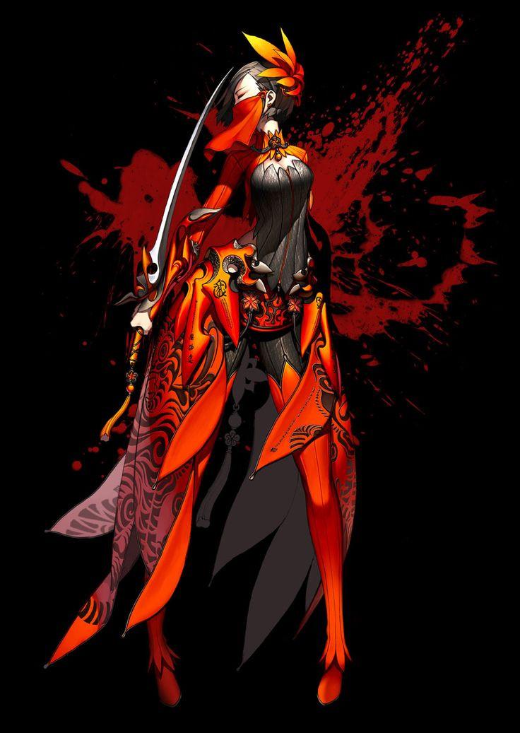 Character Concept Art - Blade & Soul Art Gallery