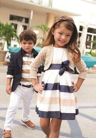 Kids Fashion. Coordinating outfits. @Rebecka Gonza...