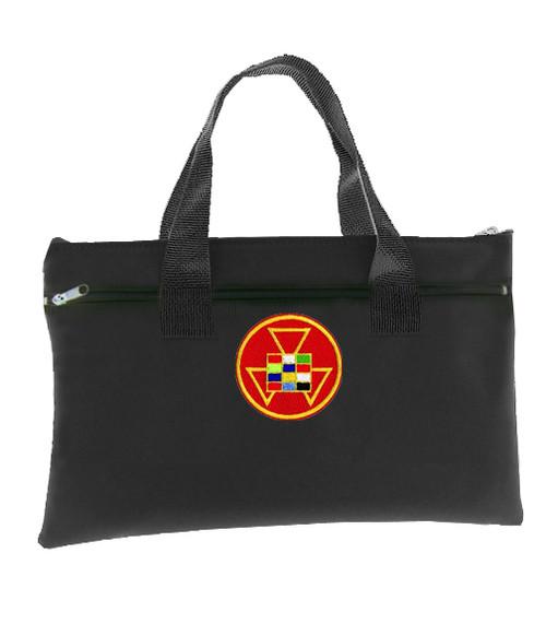 Past High Priest Black Masonic Tote Bag for Freema...
