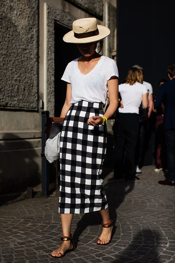 On the Street…Checks or Plaids? (The Sartorialist)