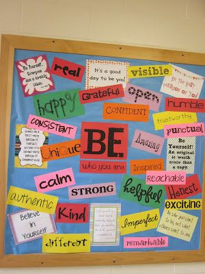 BE!  LOVE this!!! The wall outside my room. Next y...
