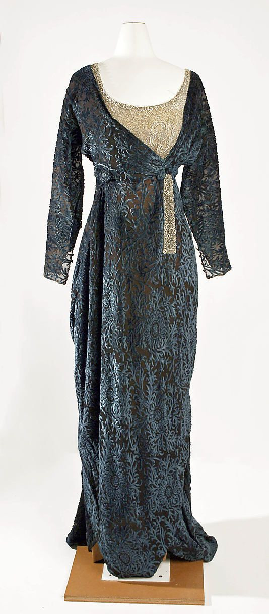 Jeanne Hallée | Evening dress | French | The Met