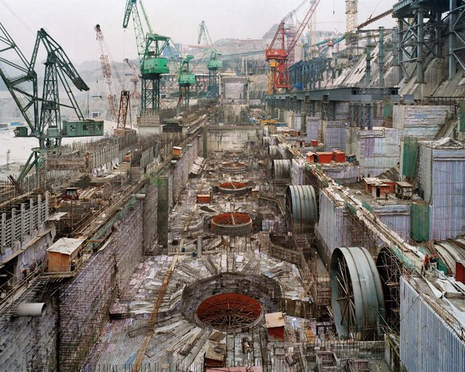 """Dam #6,"" Three Gorges Dam Project, Yangtze River,..."