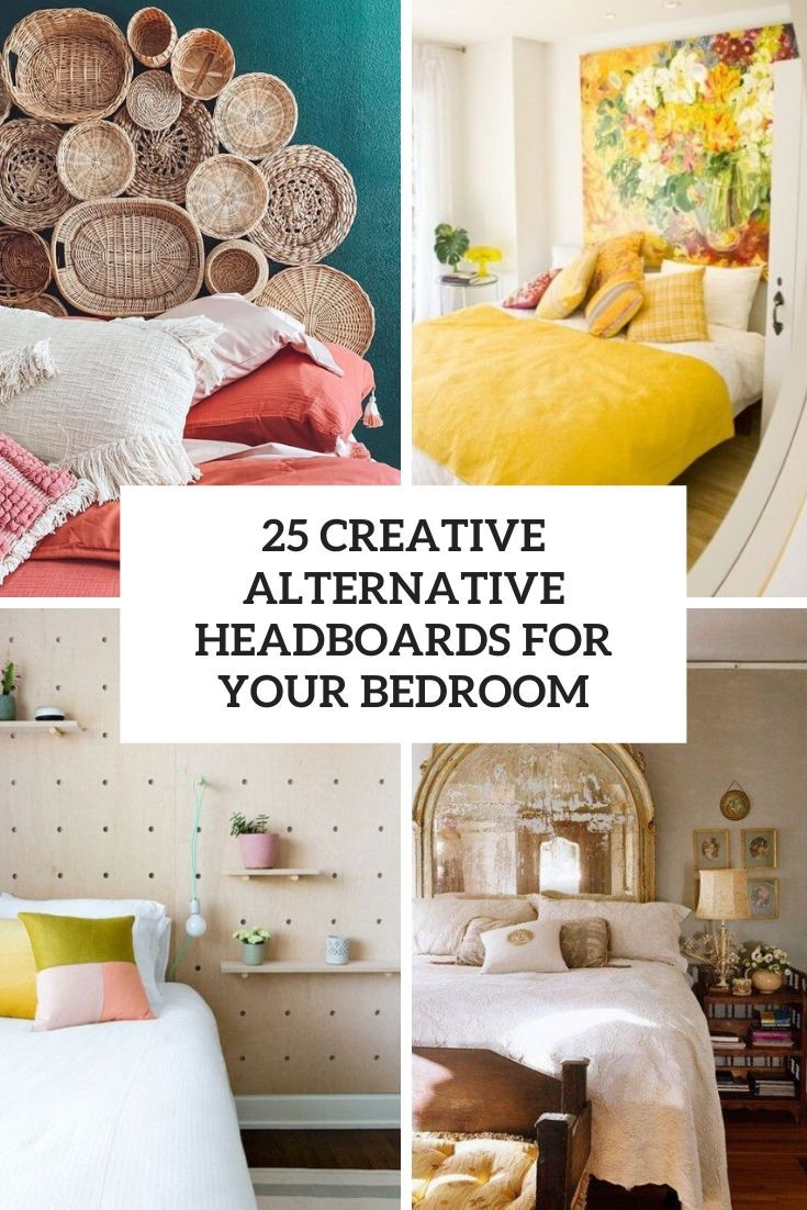 25 Creative Alternative Headboards For Your Bedroo...