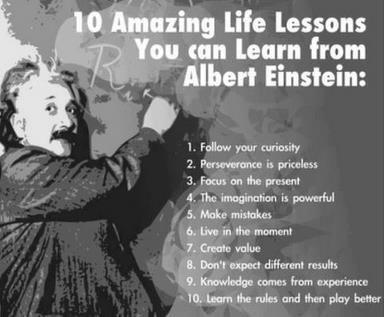 Life Lessons From Albert Einstein - PositiveMed