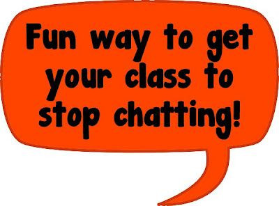 Fun Way to Get Your Kids to Stop Chatting! • A Tur...
