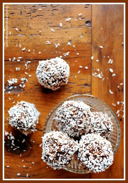 "Swedish Chocolate Balls or ""Chokladbollar"" // #Cho..."
