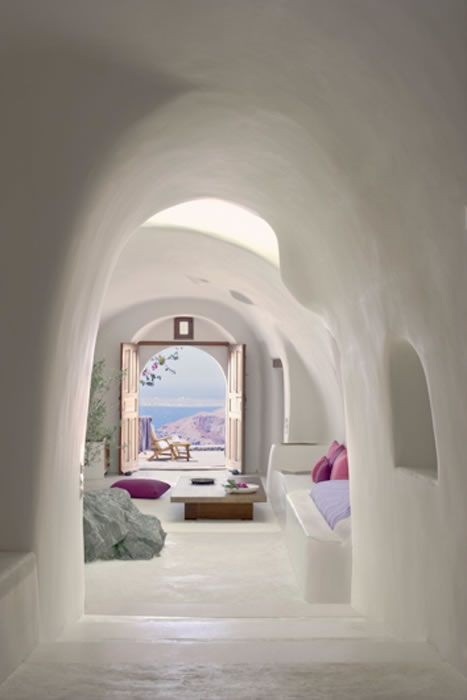 This is in Santorini, but believe it or not, I onc...