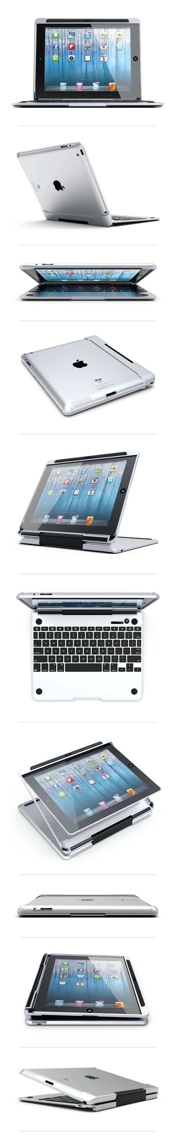 Turn Your iPad Into a Laptop With the Cruxskunk Ke...