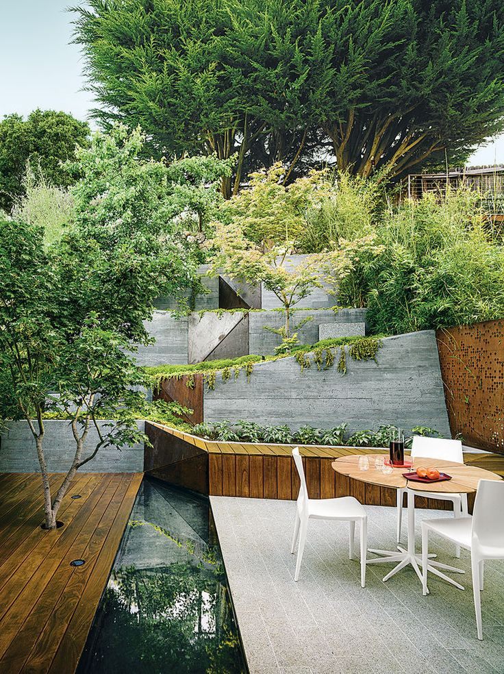 Articles about 7 tiny backyards big style on Dwell...