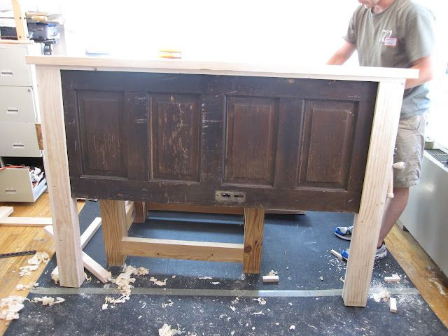Ain't She Crafty: How To Build A Headboard From An...