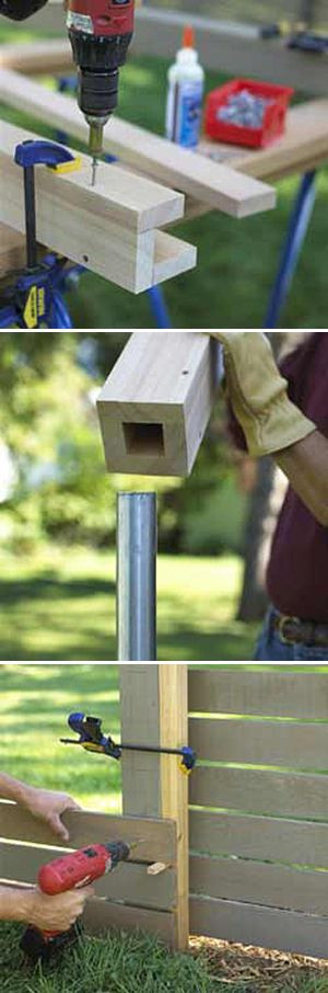 Easy DIY Fences - How to Build a Fence! | The Gard...