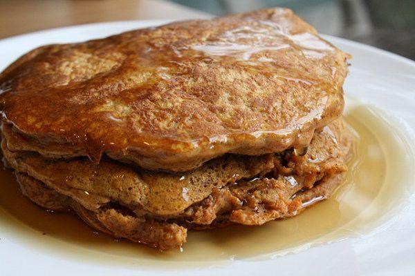 Sweet Potato Pancakes: definitely want some especi...