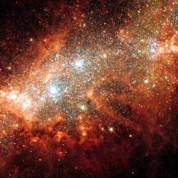 Galaxy NGC 1569. Image and text copyright © Astrog...