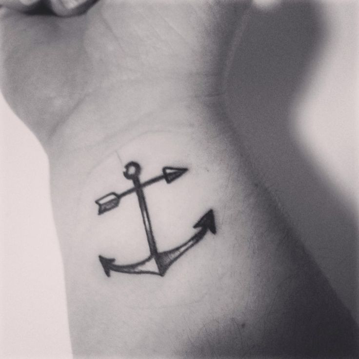 like the anchor with the arrow