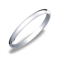 This traditional 2mm women's wedding band shines i...