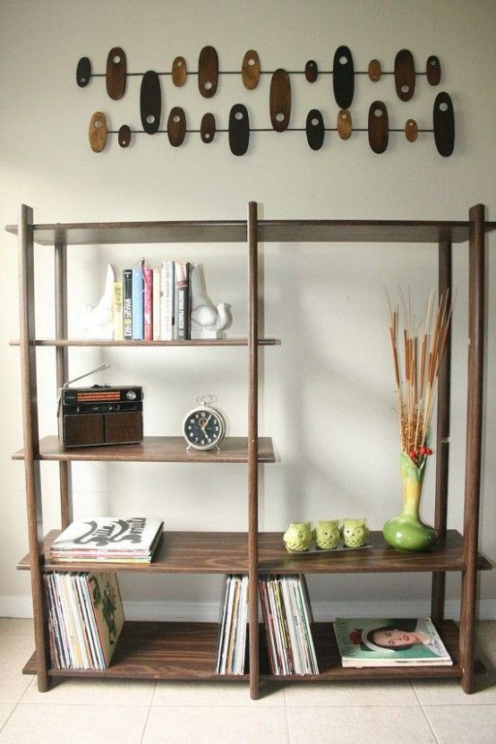 25 Original Mid-Century Modern Bookcases You'll Li...