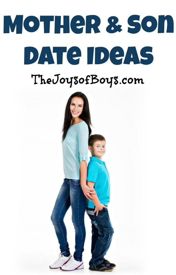 The Ultimate List of Mother Son Date Ideas