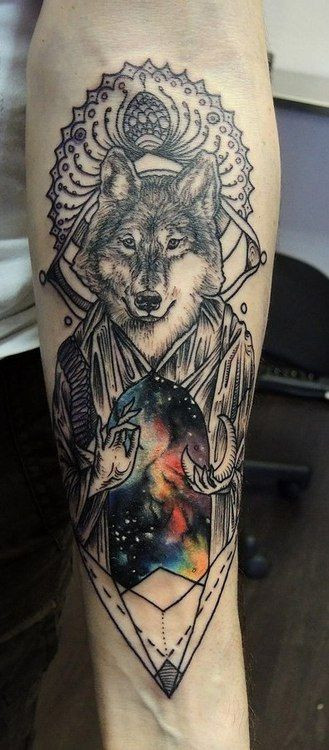 90+ Wolf Tattoo Designs | Cuded