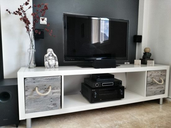 5 easy ways to create a unique KALLAX TV Stand - I...