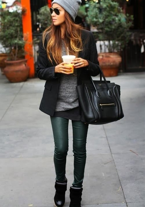 Cute! This casual look still has a way of being st...