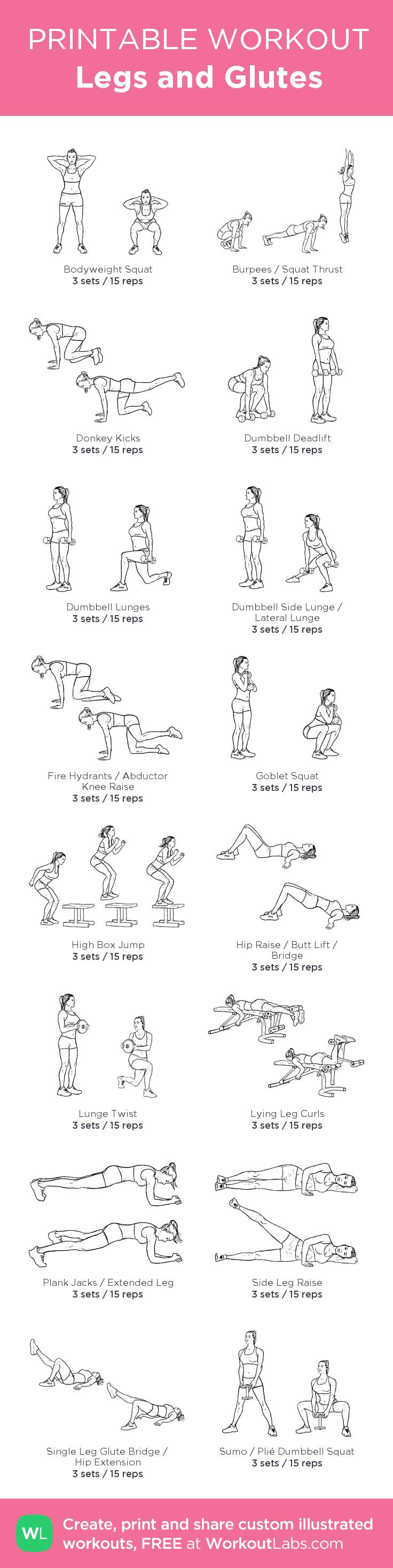 Legs and Glutes · WorkoutLabs Fit
