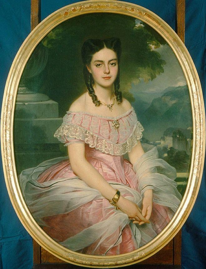1865 (Anna Friderica) Wilhelmina von Hallwyl, b Ke...