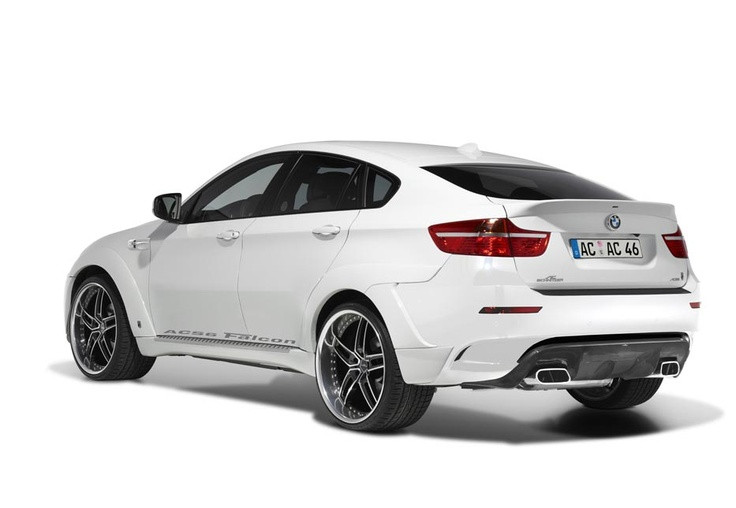 Not a big fan of the BMW X6, but this AC Schnitzer...