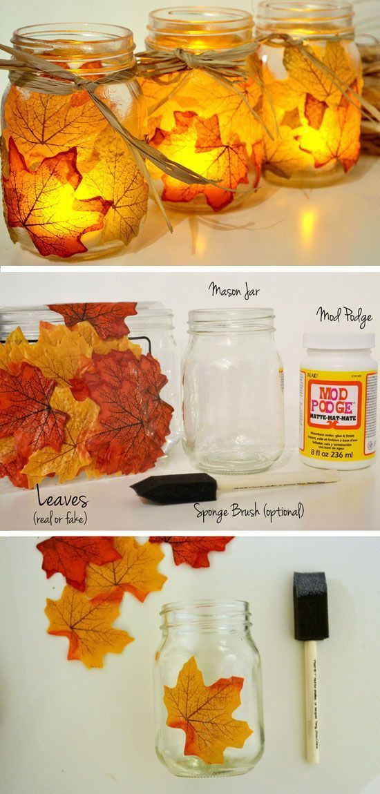 An afternoon craft that can bring warm light all s...