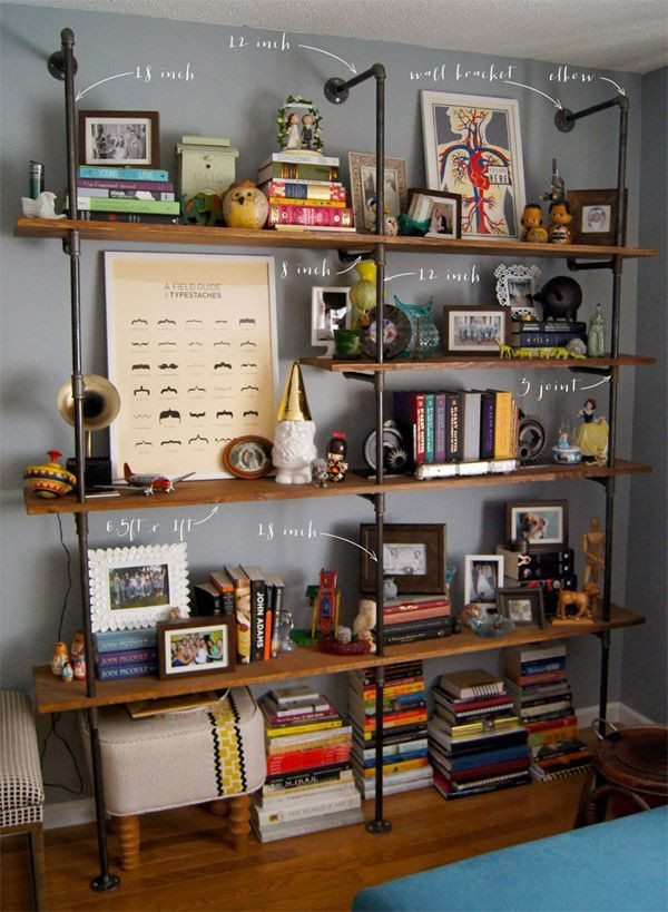 DIY Shelves — Wouldn't it be Lovely