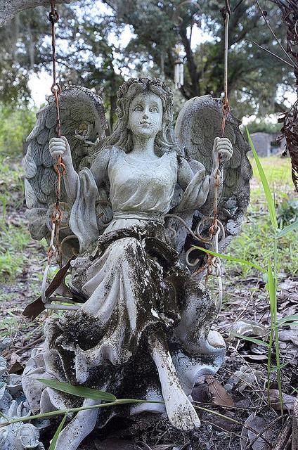 Angel on a Swing by jeff.olson