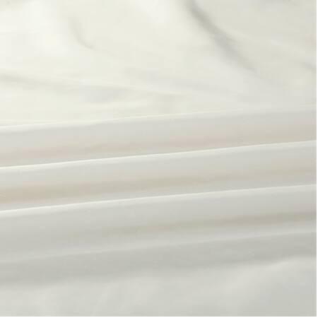 Off White Vintage Textured Faux Dupioni Silk Fabri...