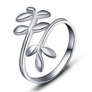 Vine Ring - Adjustable - One Size Fits All (.925 S...