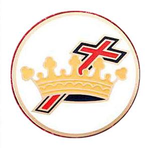 Masonic Car Emblem / Knights of Templar Cross and...