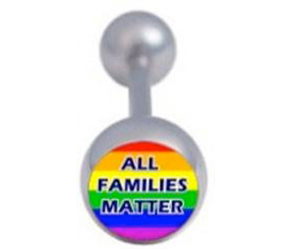 All Families Matter - Gay and Lesbian Pride Tongue...