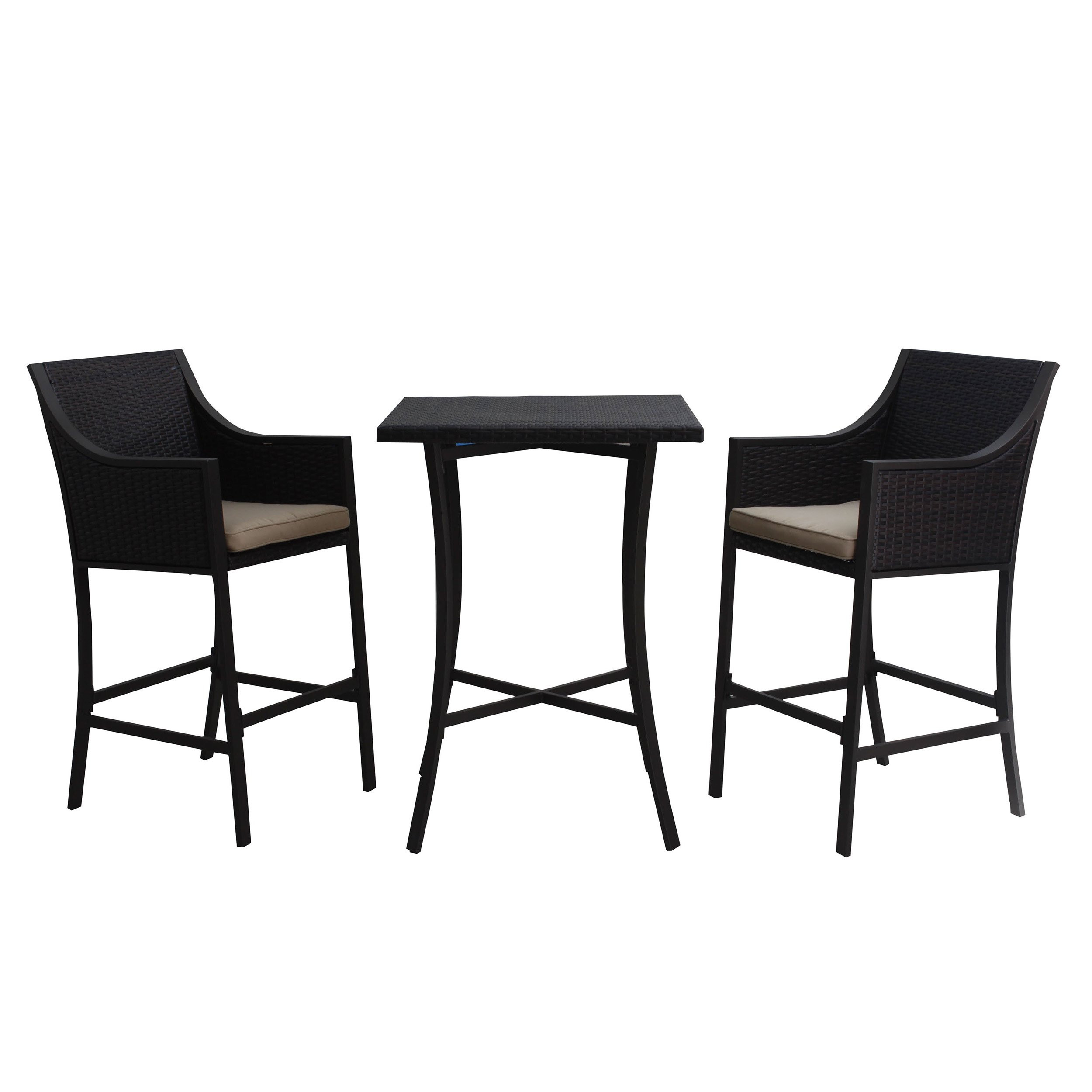Denise Austin Home Pyra 3 Pc. Multi Brown Outdoor...